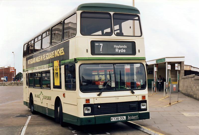 738 K738ODL, Ryde 5/4/1995