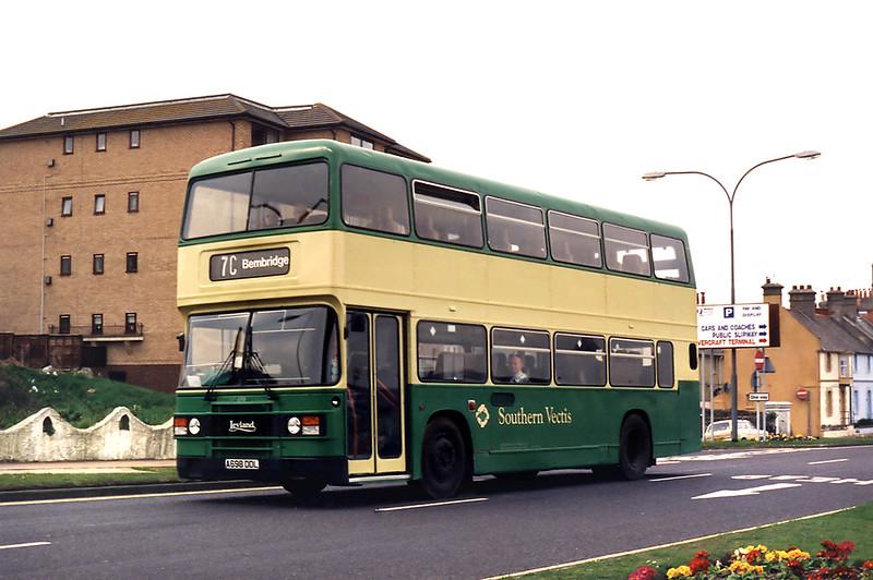 698 A698DDL, Ryde 5/4/1995