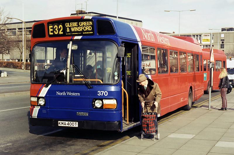 370 KMA400T, Northwich 7/3/1995
