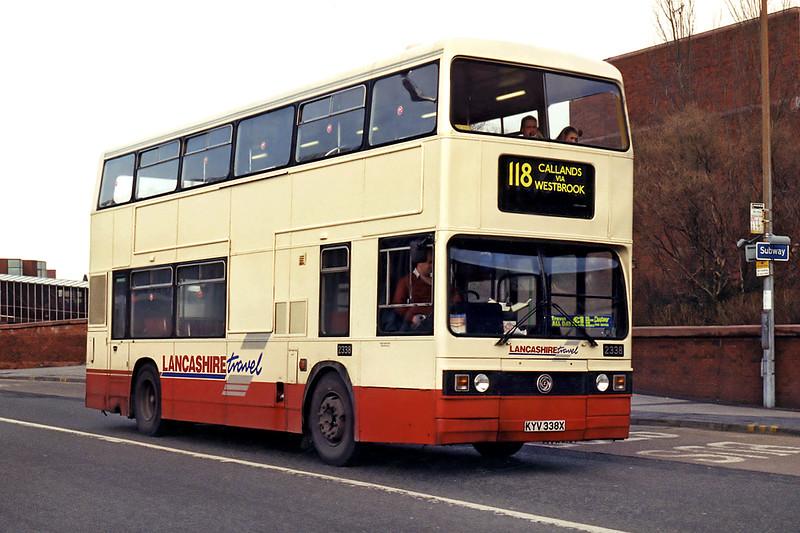 2338 KYV338X, Warrington 7/3/1995