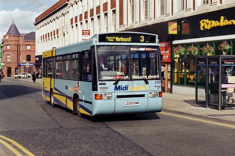 229 L229SWM, Warrington 7/3/1995