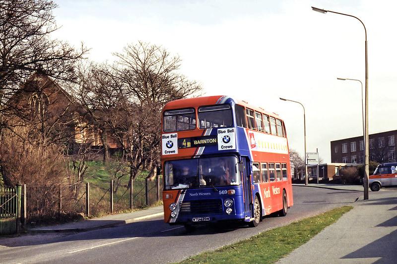 569 WTU479W, Northwich 7/3/1995