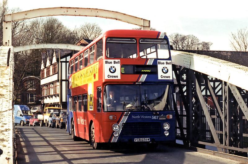 567 VCA456W, Northwich 7/3/1995