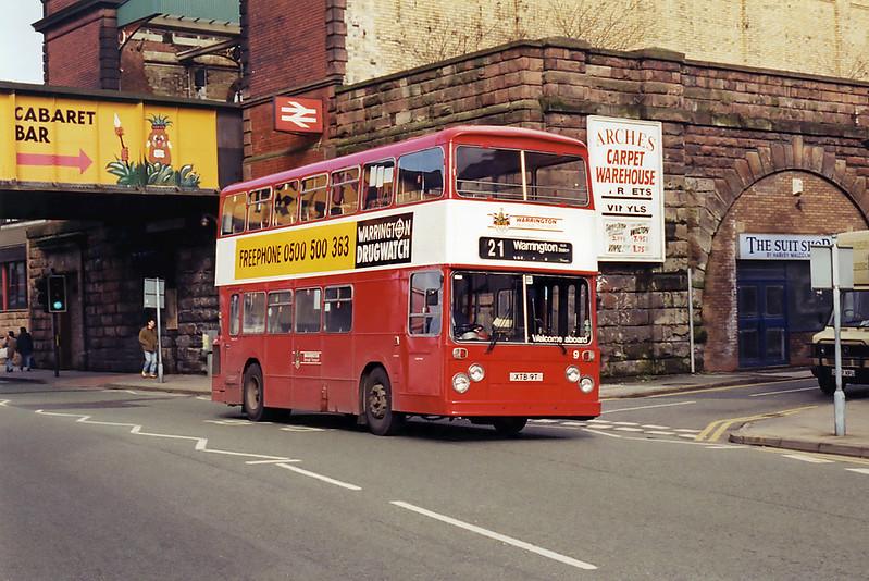 9 XTB9T, Warrington 7/3/1995