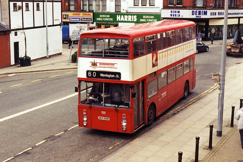 111 UFV113R, Warrington 7/3/1995