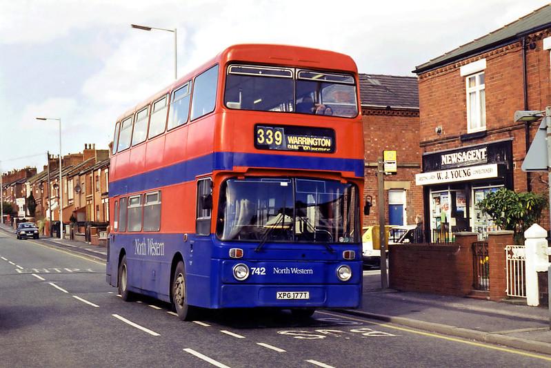742 XPG177T, St Helens 7/3/1995