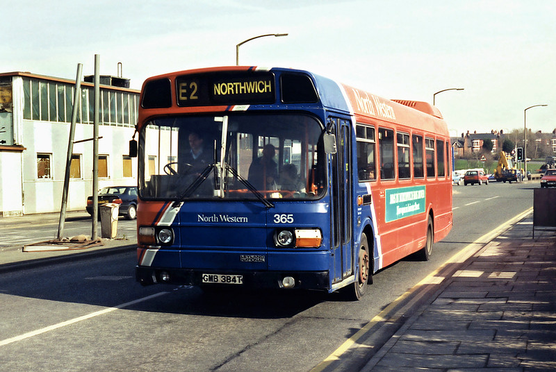 365 GMB384T, Northwich 7/3/1995