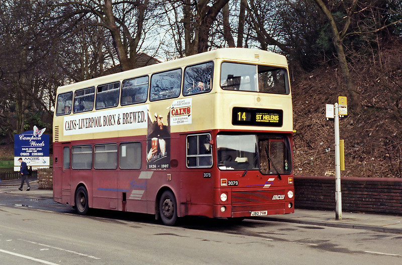 3079 JBO79W, Newton-le-Willows 7/3/1995