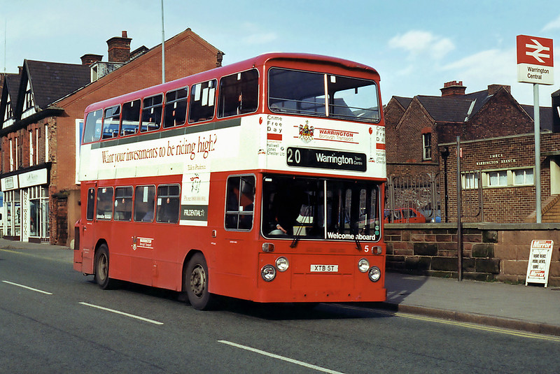 5 XTB5T, Warrington 7/3/1995