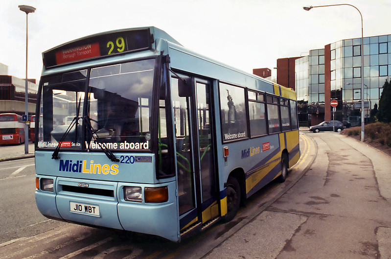 220 J10WBT, Warrington 7/3/1995