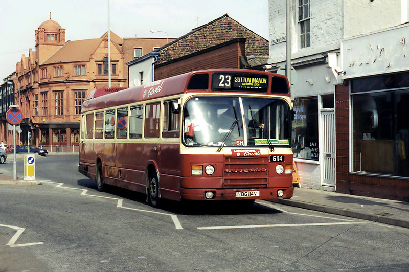 6114 VBG114V, St Helens 10/3/1995