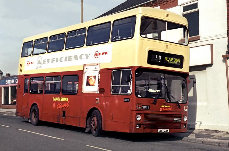 3078 JBO78W, St Helens 10/3/1995