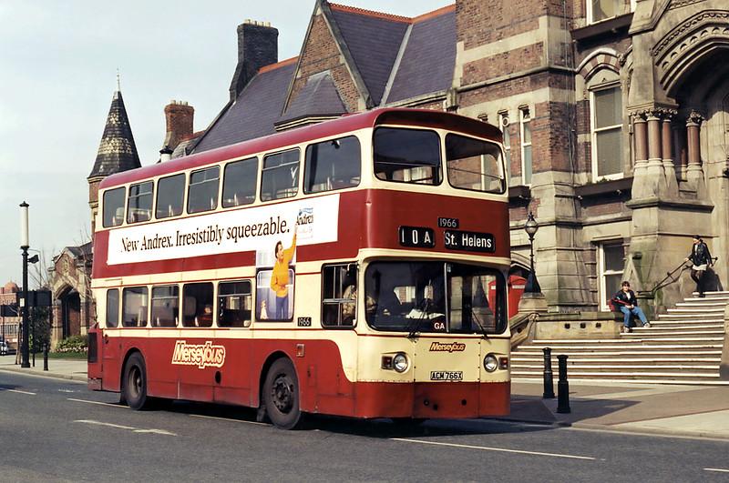 1966 ACM766X, St Helens 10/3/1995