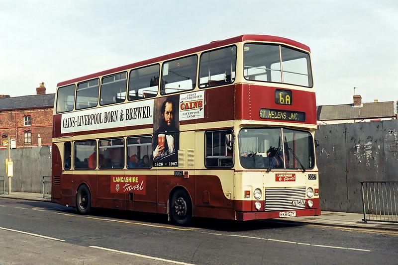 0057 EKA157Y, St Helens 10/3/1995