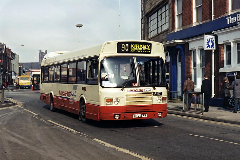 6157 XLV157W, St Helens 10/3/1995