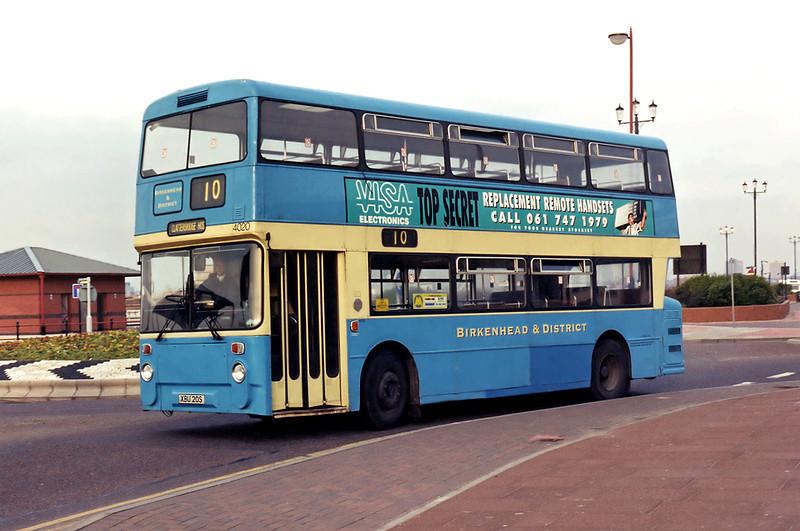 4020 XBU20S, New Brighton 10/3/1995