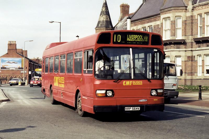 1094 KRP564V, St Helens 10/3/1995