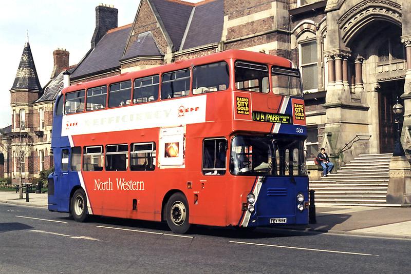 530 FBV515W, St Helens 10/3/1995