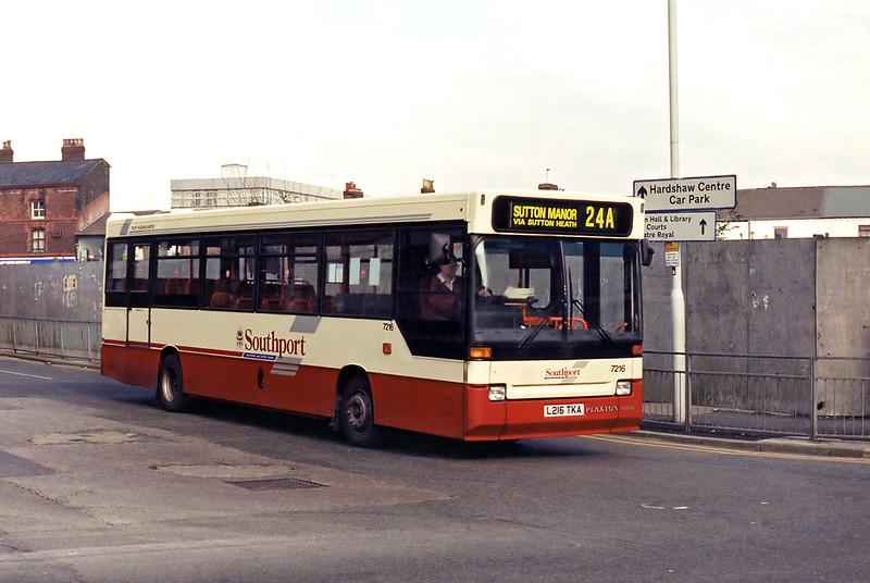7216 L216TKA, St Helens 10/3/1995
