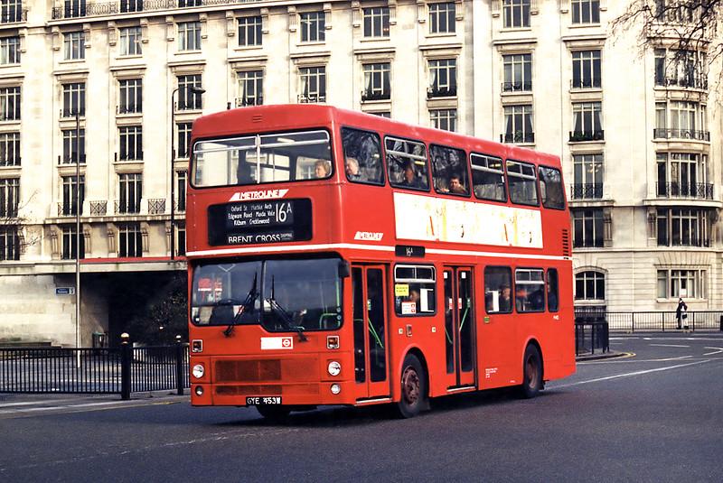 M453 GYE453W, Marble Arch 11/1/1995