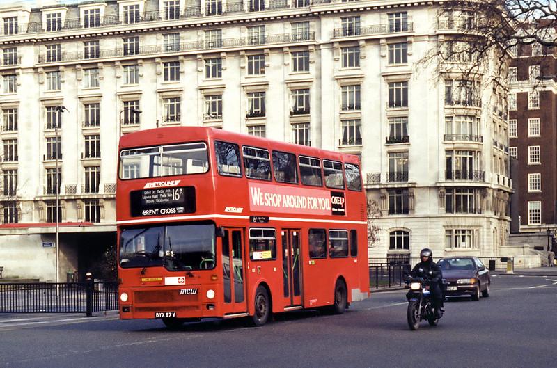 M97 BYX97V, Marble Arch 11/1/1995
