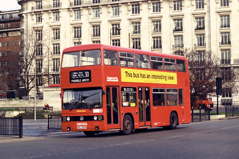 T222 CUL222V, Marble Arch 11/1/1995