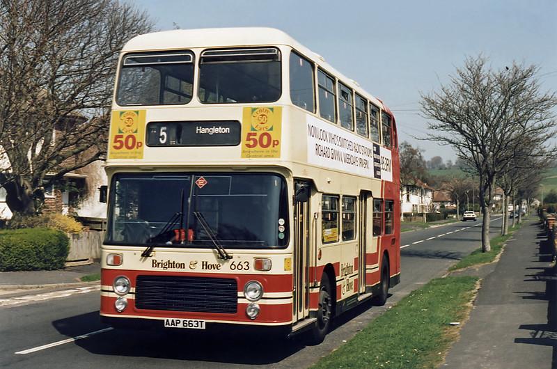 663 AAP663T, Patcham 11/4/1995