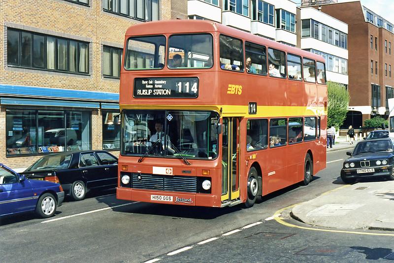 L150 H150GGS, South Harrow 13/4/1995
