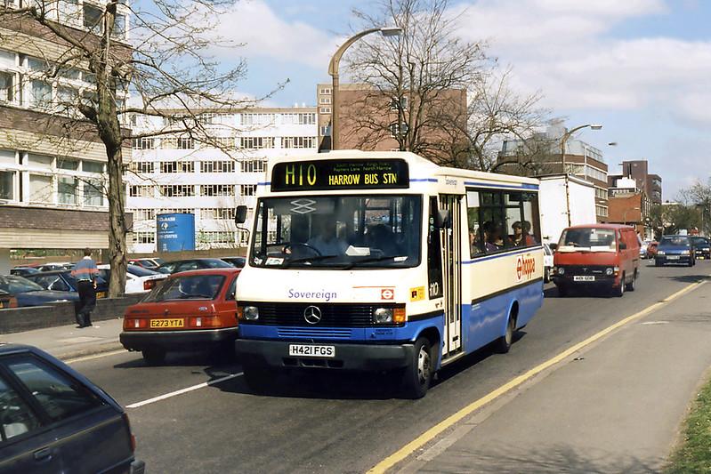 H421FGS, South Harrow 13/4/1995