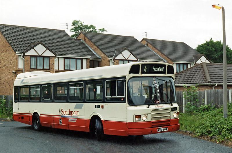 6131 WWM910W, Freshfield 20/6/1995