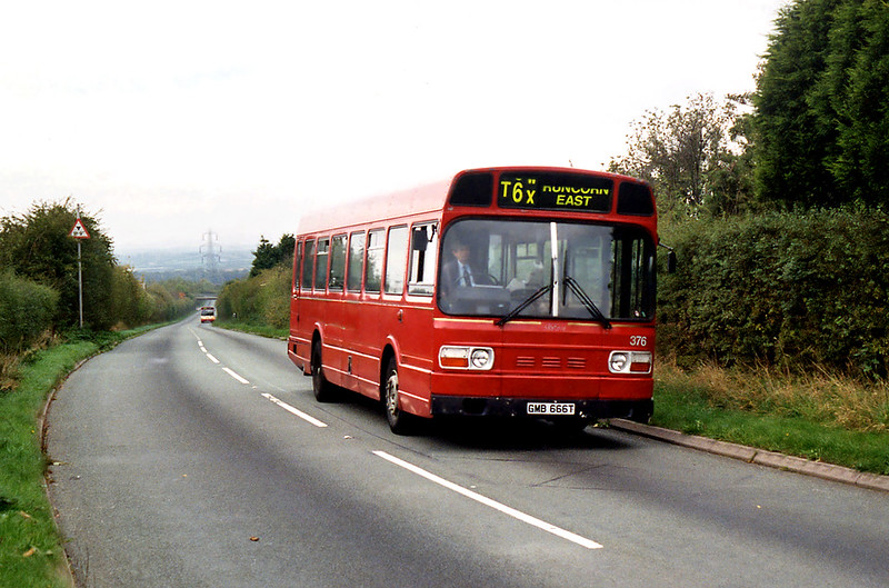 376 GMB666T, Halton 16/10/1995