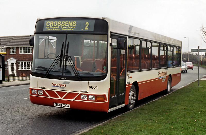 6601 N601CKA, Crossens 19/12/1995
