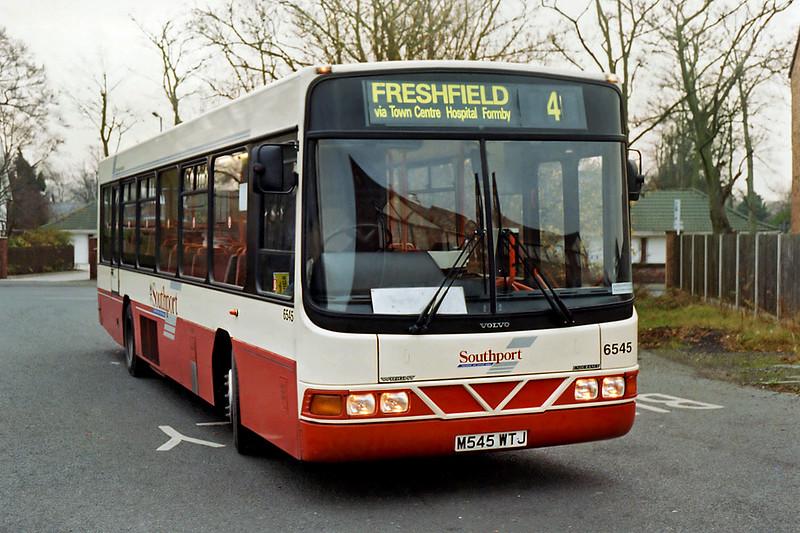 6545 M545WTJ, Freshfield 19/12/1995