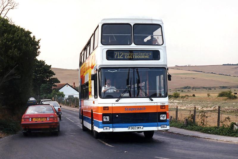 7307 F307MYJ, Exceat 18/8/1995