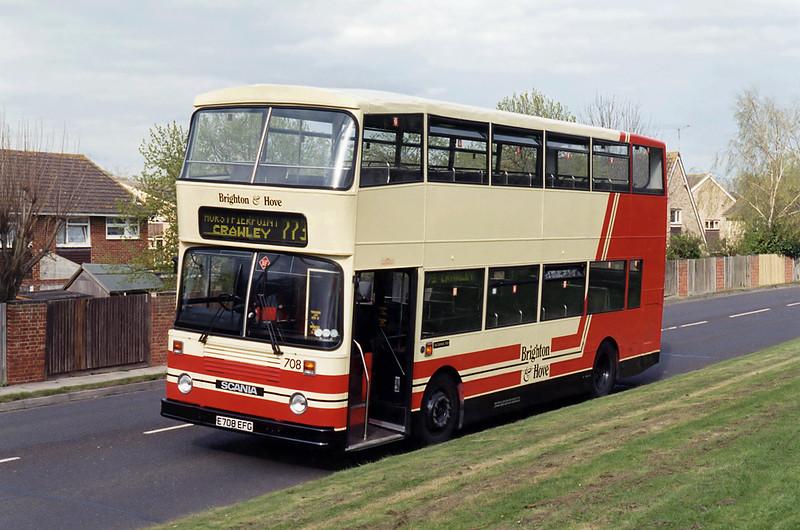 708 E708EFG, Crawley 22/4/1995
