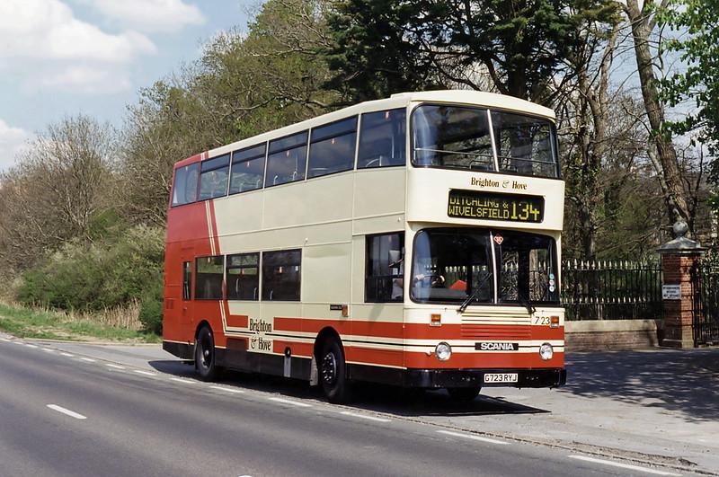 723 G723RYJ, Wivelsfield Green 21/4/1995