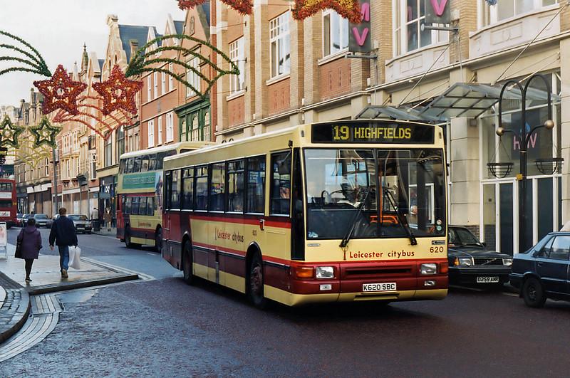 620 K620SBC, Leicester 22/11/1995