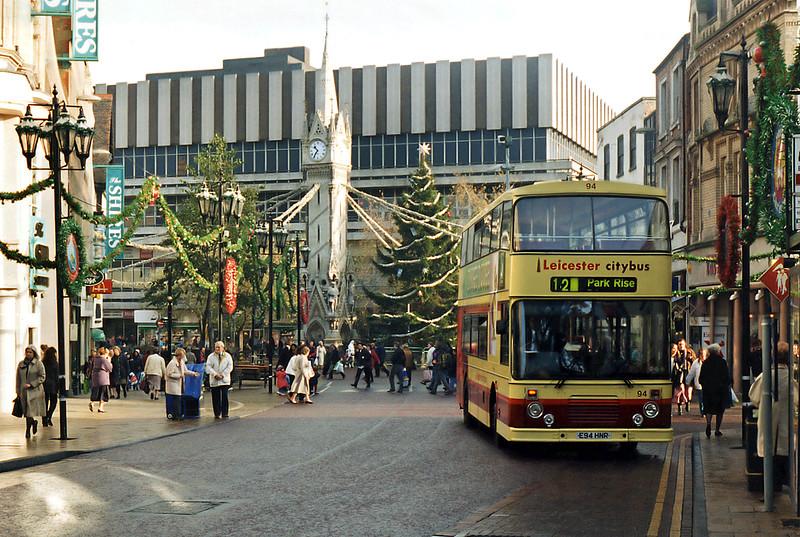 94 E94HNR, Leicester 22/11/1995