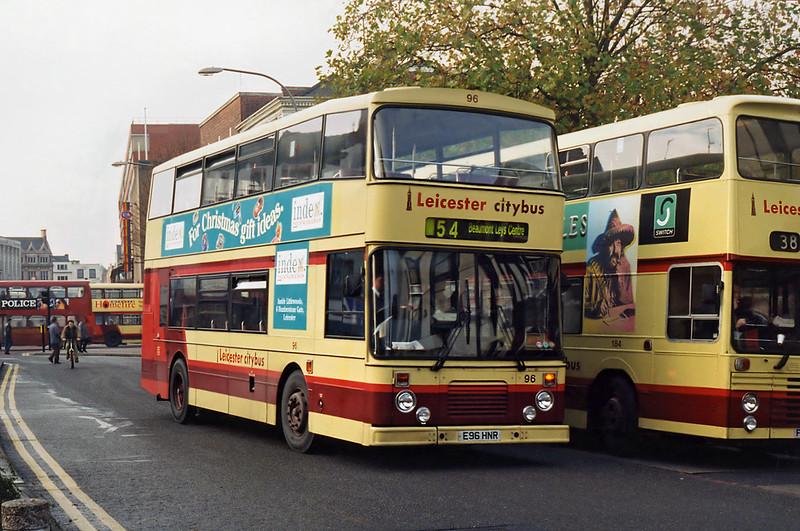 96 E96HNR, Leicester 22/11/1995