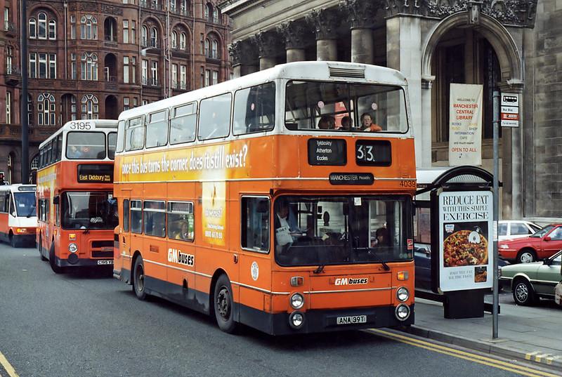 4039 ANA39T, Manchester 24/2/1995