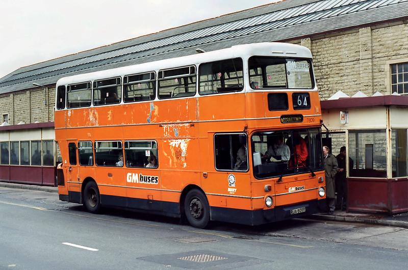 7809 RJA809R, Rawtenstall 24/2/1995