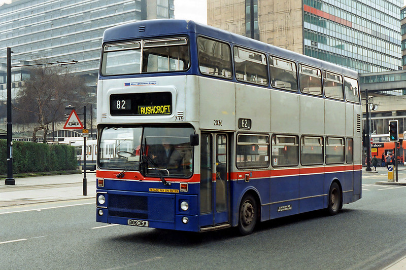 779 BOK36V, Manchester 24/2/1995