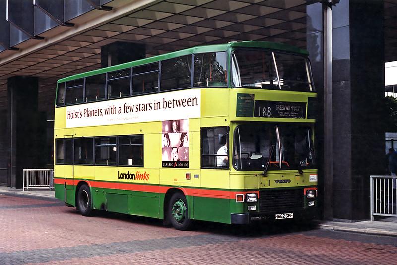 662 H662GPF, Euston 26/6/1995