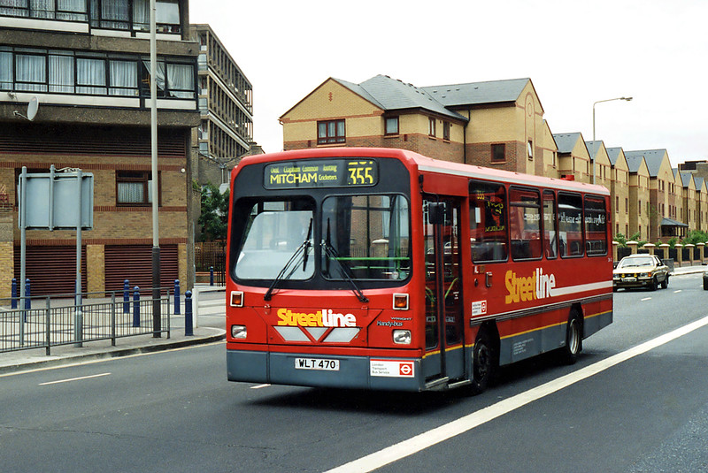 DW47 WLT470, Elephant and Castle 24/6/1995
