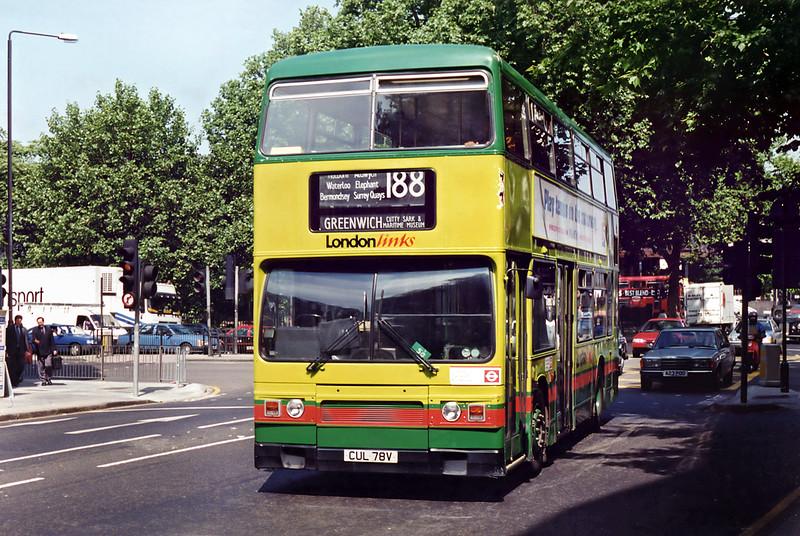 913 CUL78V, Euston 26/6/1995