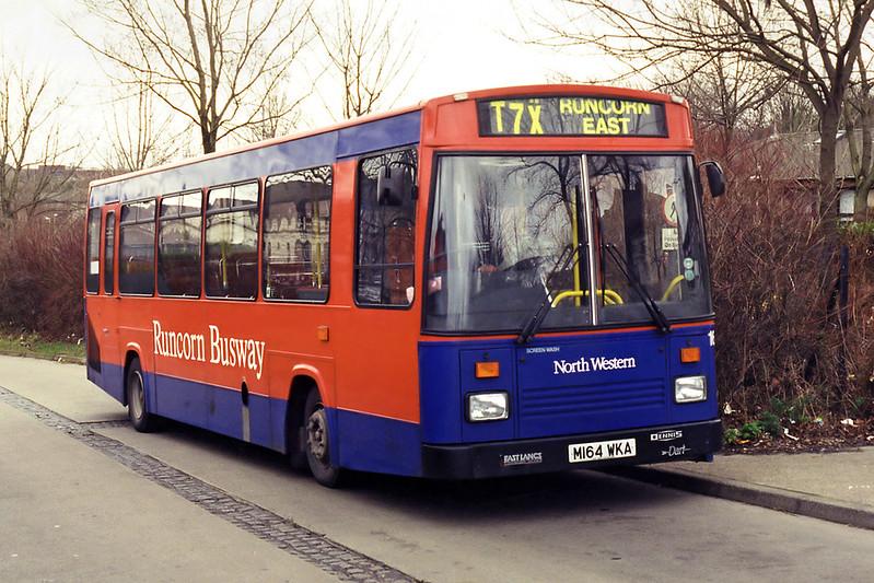 1164 M164WKA, Runcorn 28/2/1995
