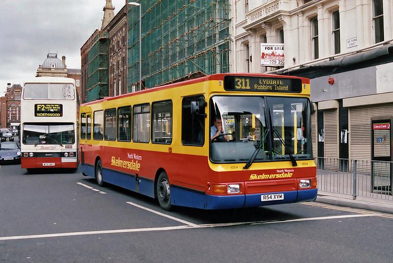 1054 R54XVM, Liverpool 6/2/1998