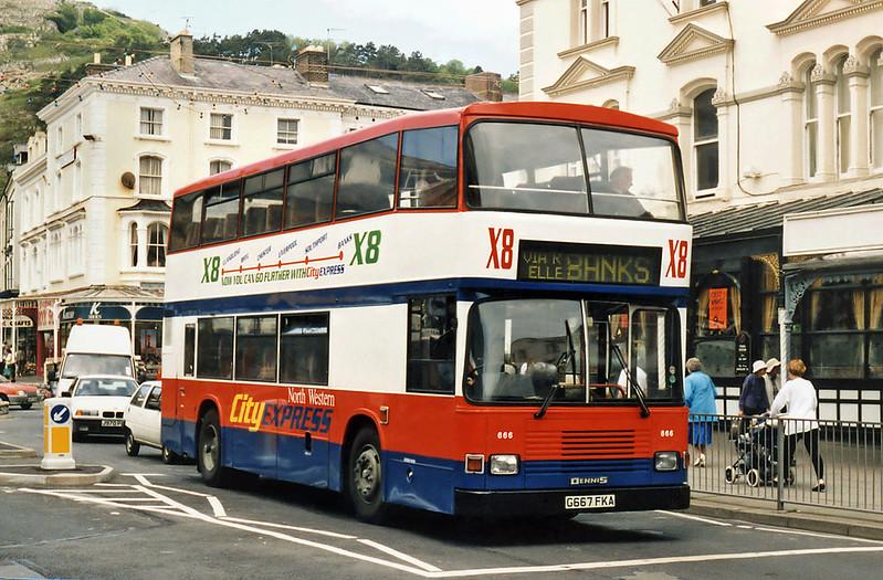 666 G667FKA, LLandudno 6/6/1996