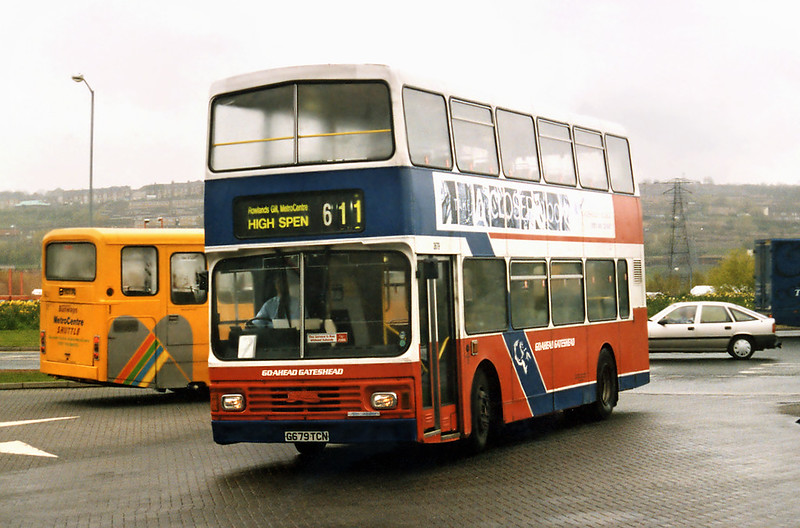 3679 G679TCN, Gateshead Metro Centre 12/5/1996