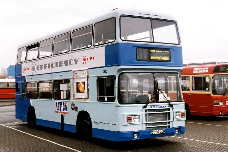 3650 C650LJR, Gateshead Metro Centre 12/5/1996